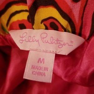 Lilly Pulitzer Skirts - LILLY PULITZER Anamaria Silk Skirt Sz Medium Pink